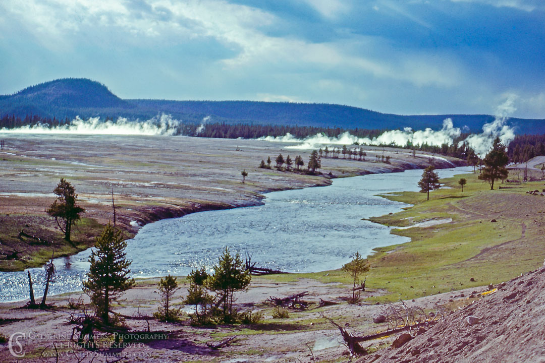 The Firehole River: Yellowstone National Park