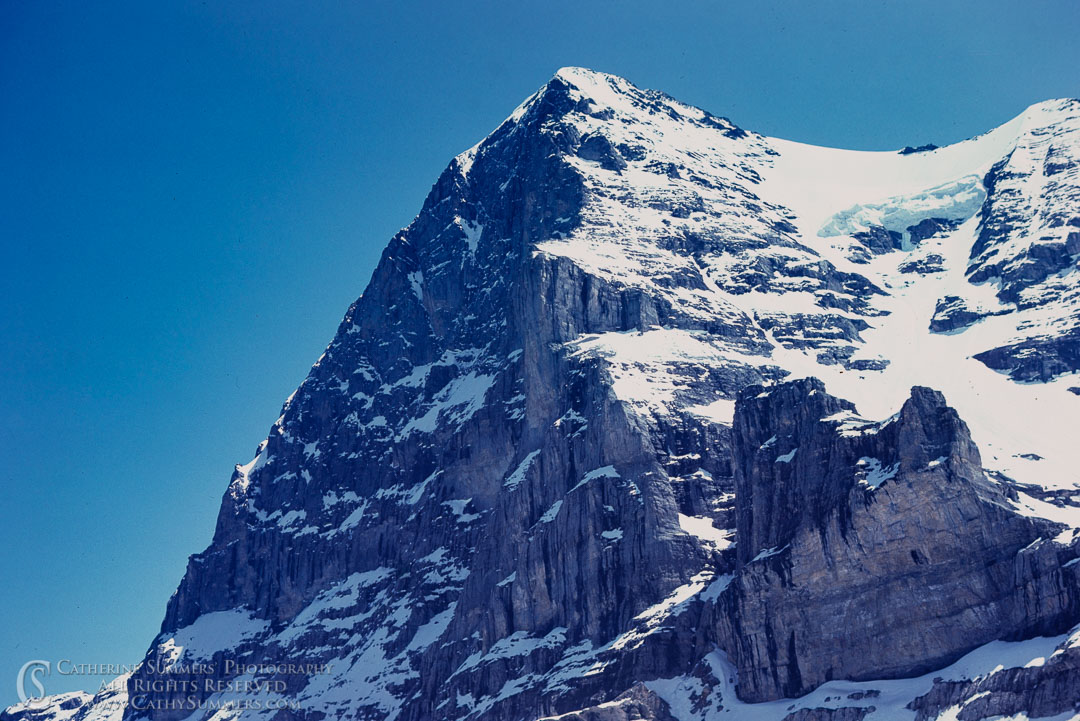 1983_Swiss_Alps_014: Eiger, North Face
