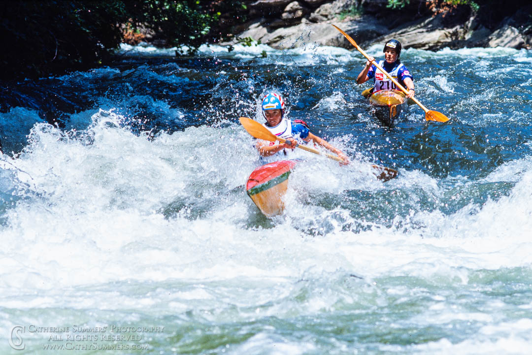 1988_Savage_WW_144: horizontal, Savage River, whitewater, wildwater, race, kayak, Pre-Worlds, K1W