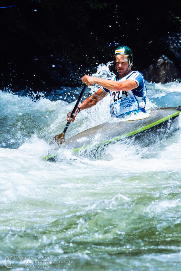 1988_Savage_WW_181: vertical, Savage River, whitewater, wildwater, race, Pre-Worlds, C1