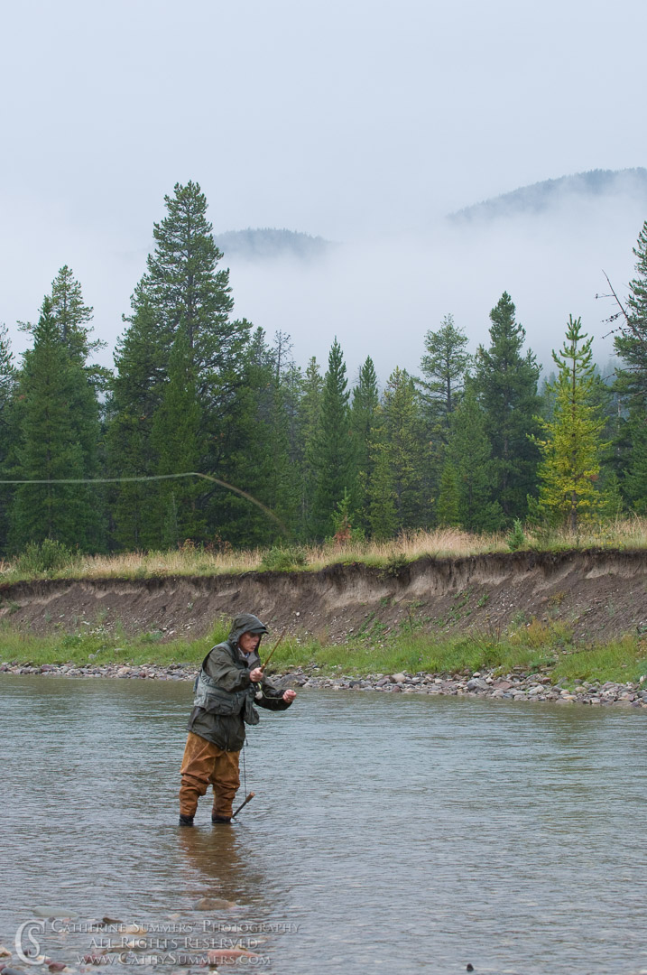 Flyfishing on the North Fork of the Sun River