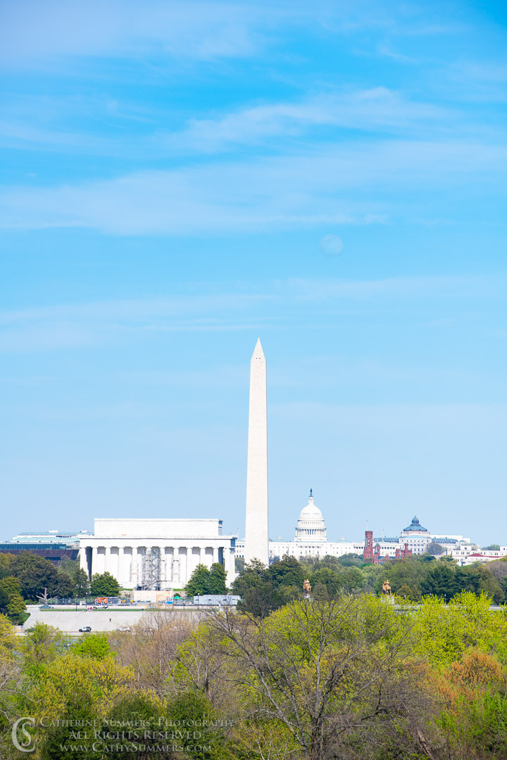 20180426_006: Washington Monument, Lincoln Memorial, US Capitol