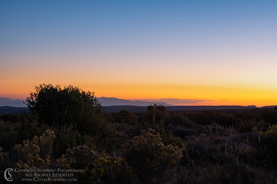20180918_189: sunset, Mesa Verde National Park