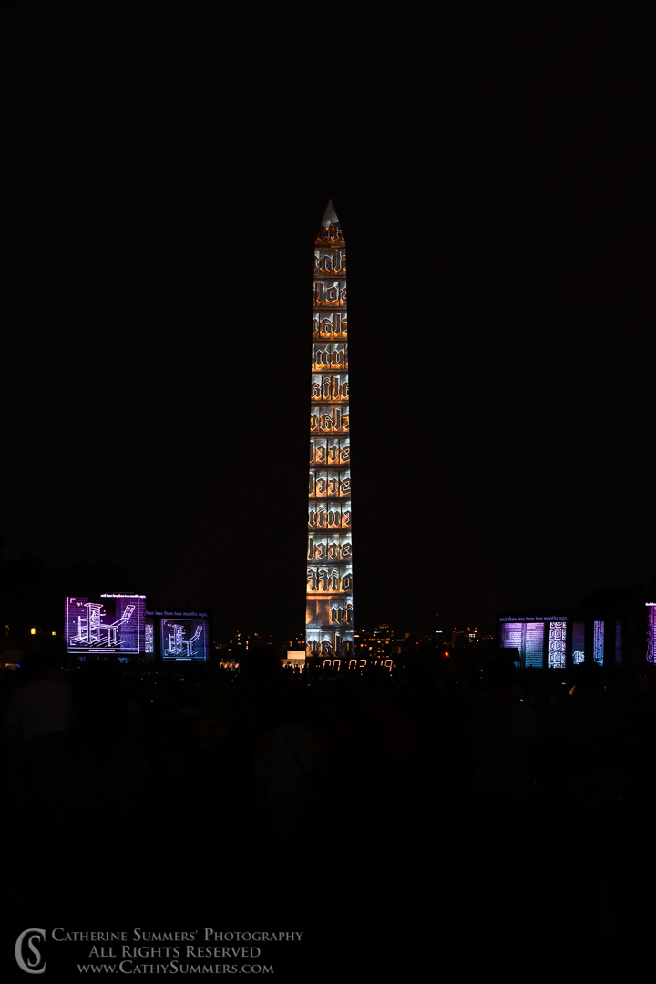 20190720_616: vertical, Washington Monument, Apollo 11, Apollo 11 50th Anniversary