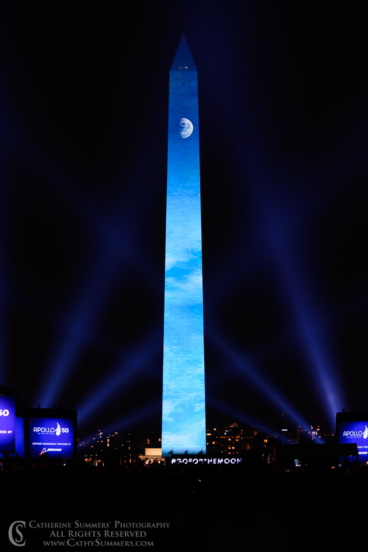20190720_672: vertical, Washington Monument, Apollo 11, Apollo 11 50th Anniversary
