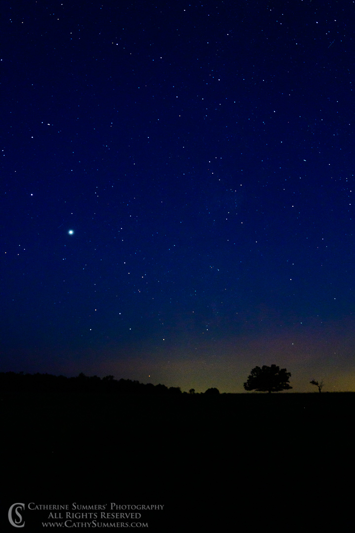 Jupiter and Saturn After Moonset at Big Meadows