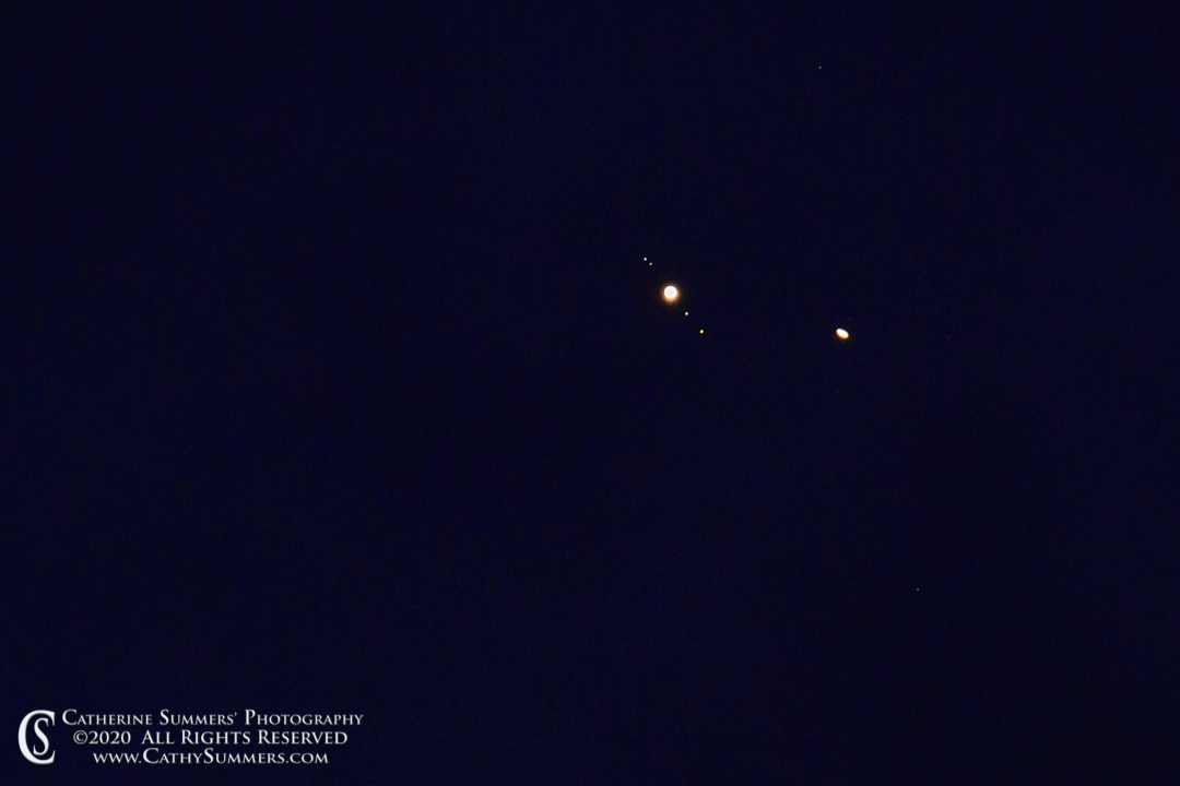 Jupiter and Saturn Conjunction - A Day Late