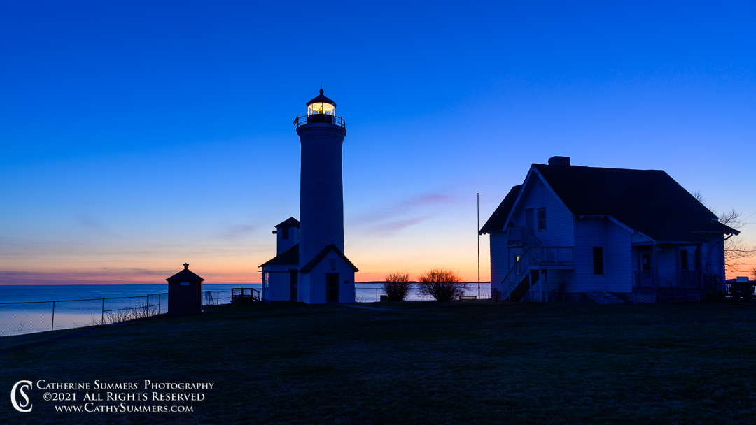 Sunset at Tibbets Point Lighthouse