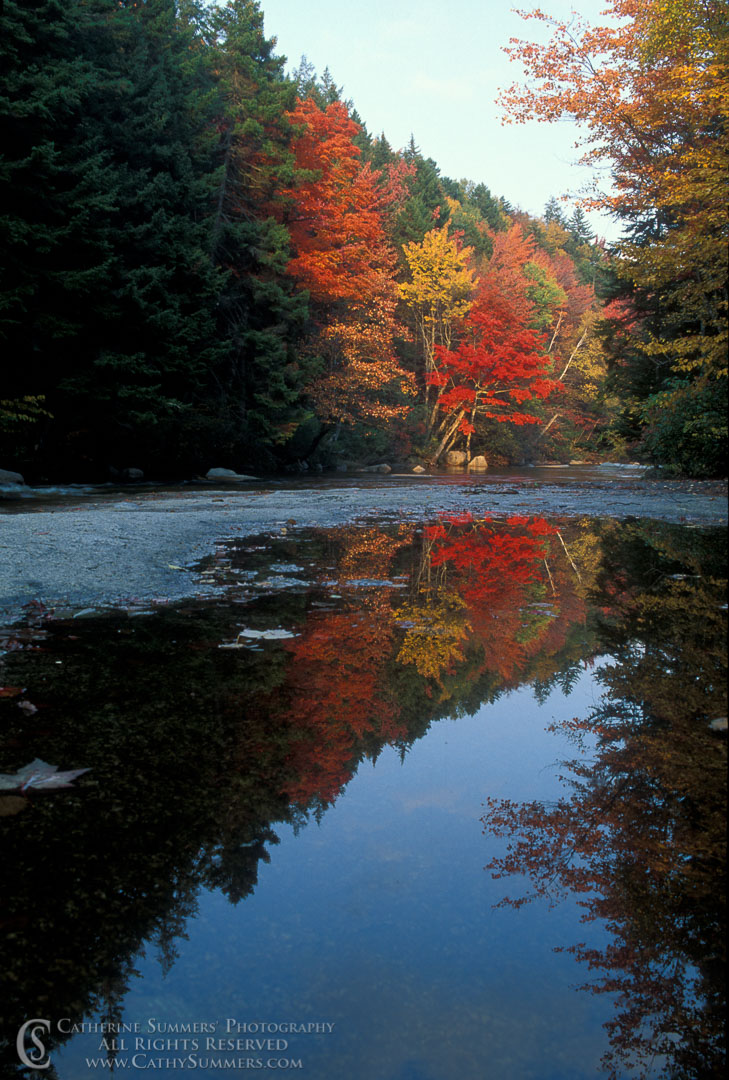 Fall Colors and Reflections on the Swift River #2: White Mountains, New Hampshire