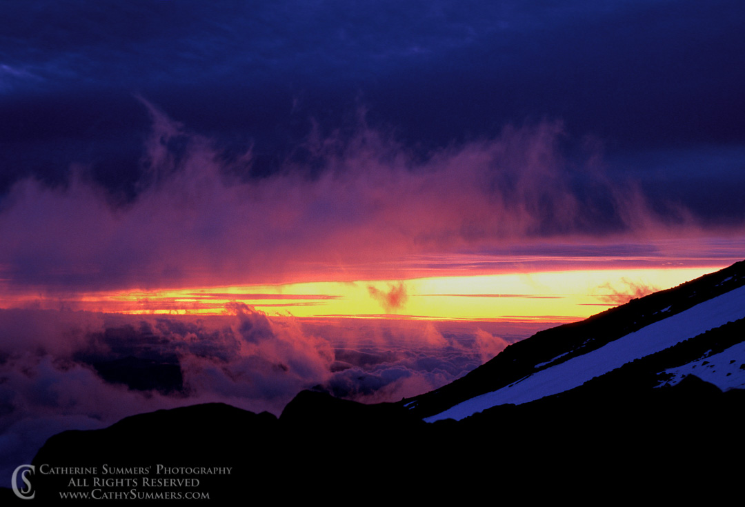 92_0986: Dawn on Mt. Shasta #2