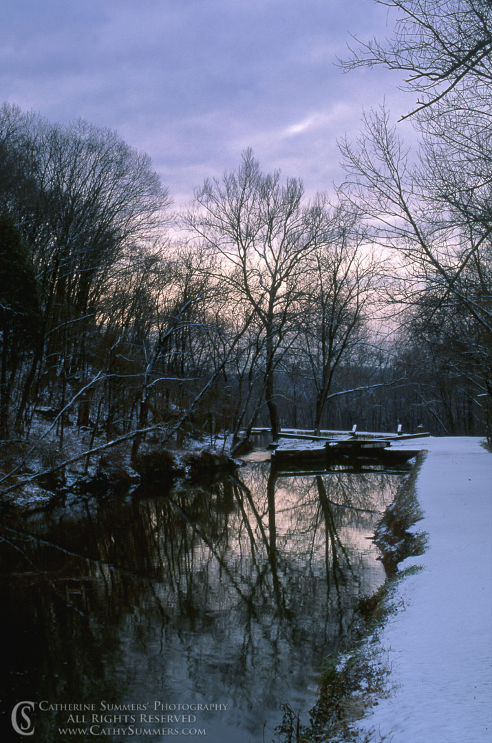 93_0101: Winter Morning on the C&O Canal
