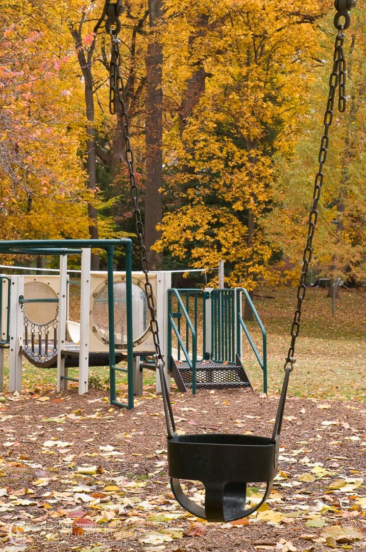 Empty Autumn Playground