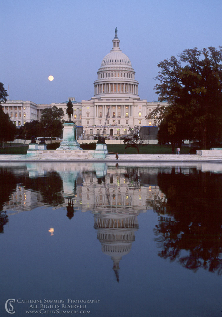 Moonrise at Capitol #3