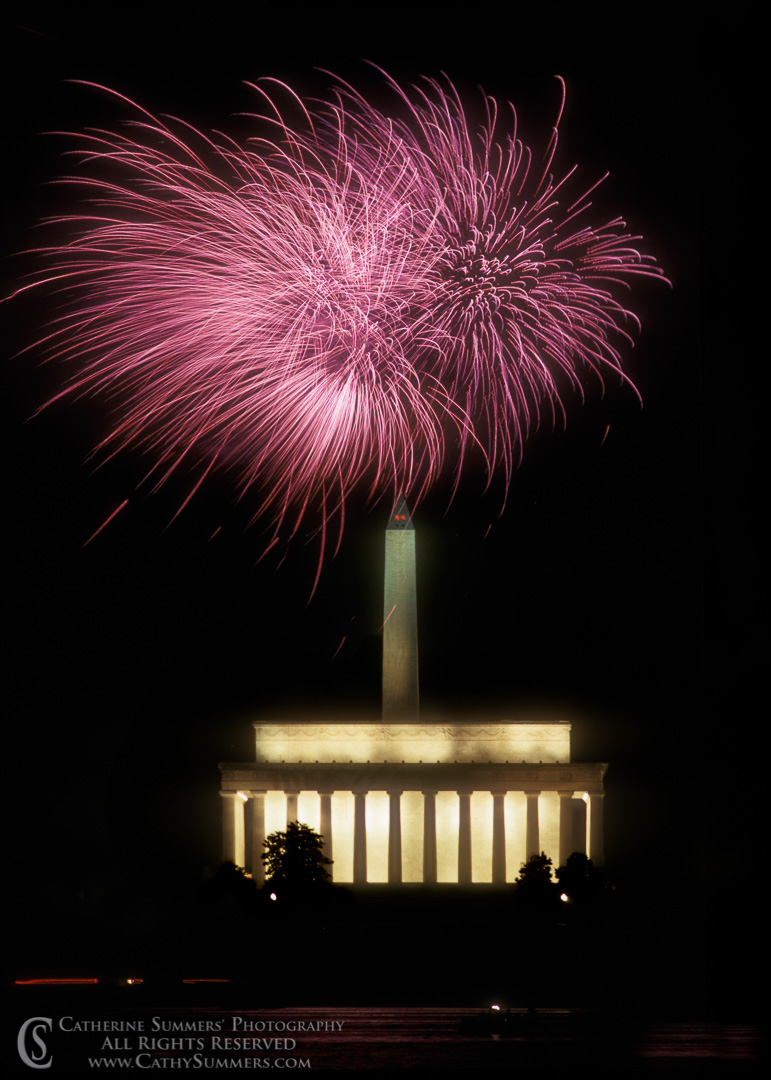 July 4th Fireworks in DC