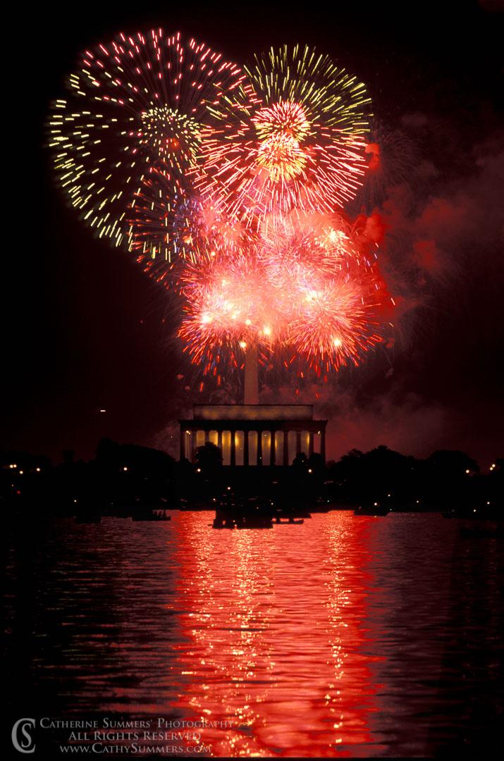 July 4th Fireworks Finale in DC