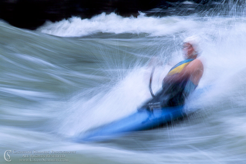 GFP_1991_003: horizontal, Great Falls National Park, Great Falls, canoe, whitewater, kayaking, C-1, surfing, Odeck, O'deck