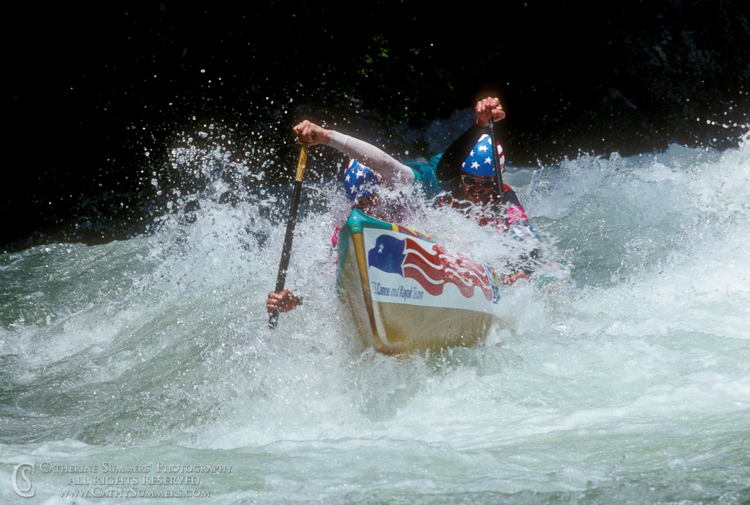 WC1989_301: Wildwater C2 at the 1989 World Championships on the Savage River